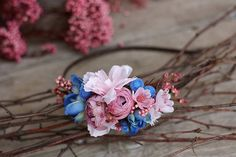 Flower headband hairband