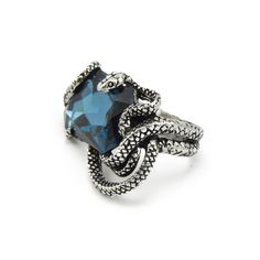 Naida. Snake Wrap Ring - REGALROSE | SHOP Fashion Jewellery & Accessories. Size large. $34.40