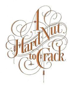 Hard nut to crack!