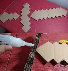 Resultado de imagem para molde minecraft feltro