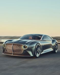 For 100 years of their brand, Bentley Motors Limited designed a radical new concept car. New Sports Cars, Exotic Sports Cars, Sport Cars, Exotic Cars, Bugatti, Maserati, Bentley Motors, Bentley Car, Ferrari