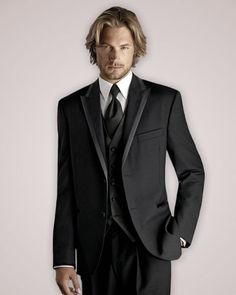 Just so you ladies can see, these are the tuxedos that we picked for the guys to wear! Adam will look so handsome!