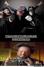 Image result for hollywood undead meme