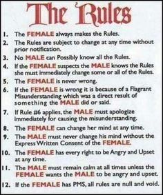 Rules for bdsm slaves