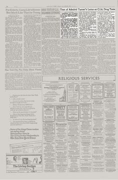 The article as it originally appeared. - MKUltra letter from 1977