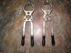 2 alicates castrador 42cm burdizzo original made italia,