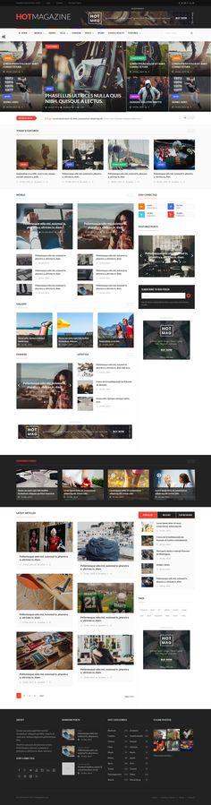 Hotmagazine - News & Magazine WordPress Theme. Live Preview & Download: http://themeforest.net/item/hotmagazine-news-magazine-wordpress-theme/14747026?ref=ksioks