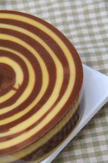 masam manis: DESSERT zebra pudding