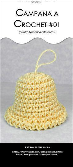 #Campana a #Crochet | #PatronesValhalla