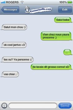 Personne Funny Texts, Funny Jokes, Couple Message, Lol, Sms Jokes, French Quotes, Dumb And Dumber, Dankest Memes, Funny Pictures