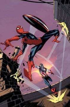 Spidey #10 - Captain America by Khary Randolph *