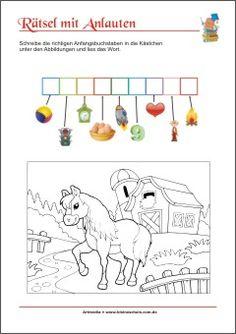 rebus rätsel für kinder - bilderrätsel mit lösungen zum ausdrucken | rätsel für kinder