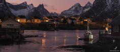 #211. Quiet twilight. Lofoten. Norge. / 500px
