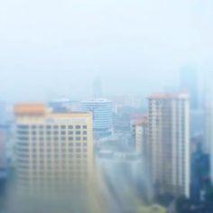 Intense tropical rain in Kuala Lumpur - glad to be inside #Malaysia #khootravels