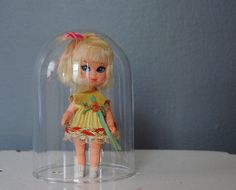 little kiddles dolls from the 1960s | Little Kiddle Skediddle Doll Suki 1960's Toy by SeeDollyRun