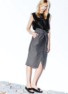 Fashion Design: Mango Premium Lookbook: Fall 2014 - DustJacket Attic