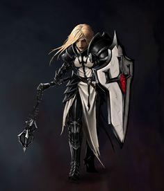 Crusader (Diablo 3 Reaper Of Souls) by Prohibe.deviantart.com on @DeviantArt