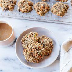 Carrot, Cardamom and Pistachio Breakfast Cookies