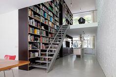 10 homes ideal for book lovers via Vogue Casa magazine  (Foto: Lukas Wassmann)