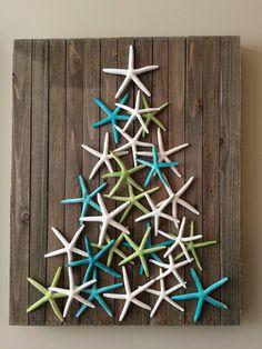 Cheap And Easy DIY Coastal Christmas Decorations Ideas (5)