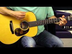 John Mellencamp - Pink Houses - Acoustic Guitar Lesson - Beginner - EASY Song - YouTube