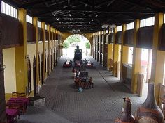 Salão de embarque da antiga Estação de Trem_Nazaré_Bahia_Brasil