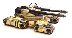 Lego Mammoth Tank