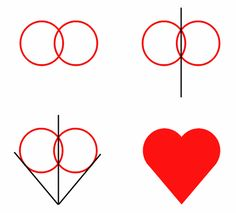 Here is a simple technique to create the perfect heart. Happy drawing! :)