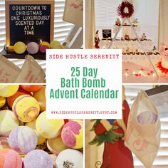 25 Day Bath Bomb Advent Calendar | Countdown to Christmas | Spa Advent Calendar