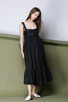 Forget Me Not Dress In Black CRDR0029