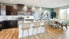 Evolve - Pardee Homes Pardee Homes Las Vegas, North Las Vegas, Common Area, Planer, Kitchen Dining, Building A House, Home And Family, New Homes, Flooring