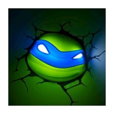Teenage Mutant Ninja Turtles 3D Wall Art Nightlight - Leonardo