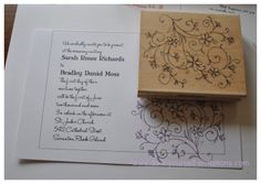 27 best anniversary invitations images on pinterest anniversary homemade anniversary invitation ideas rubber stamp wedding invitations step three trim the invites to size stopboris Choice Image
