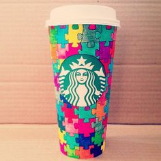 Puzzled cup by Hania El-Nomany. #WhiteCupContest