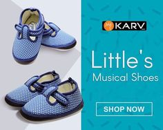 LITTLE'S Musical Baby Shoes are specially designed form the highest quality materials, so as to be soft & Comfortable for your baby's tender feet.