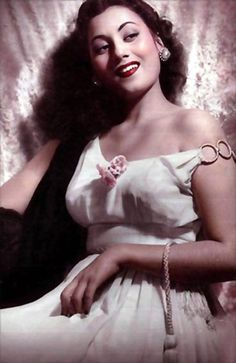 Madhubala one of the most sought-after actresses in India from late 1940s.