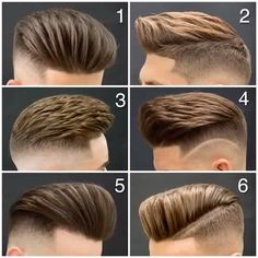 Men's hair styles
