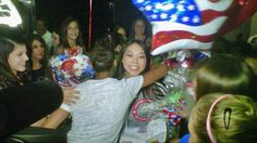 Aurora Plans Olympic Send-Off for Anna Li! Go behind the scenes at NBCChicago.com