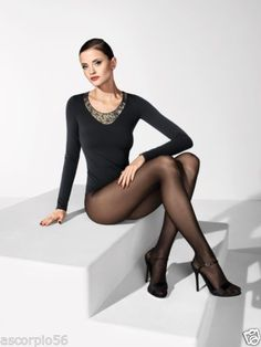 NEW-WOLFORD-SIMIN-PULLOVER-SHIRT-TOP-58211-MEDIUM-Black-SOLD-OUT-Rare-495