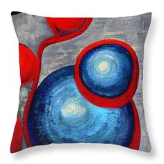 """Connections Throw Pillow 14"""" x 14"""""""