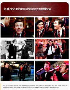 Kurt And Blaine's Holiday Traditions