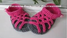 Baby Flip Flops Crochet Pattern {Whistle and Ivy} - YouTube
