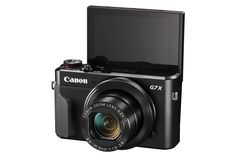 Canon Powershot G7 X Mark II - our pic for best vlogging camera with flip screen