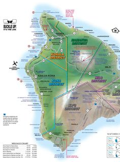 HAWAII DRIVE GUIDE - Interactive maps of the Big Island. I hope this includes info on where to buy gas. I think the only stations are near the coast. Don't run out when you are in the middle.like trying to drive up Mauna Kea! Hawaii Honeymoon, Hawaii Vacation, Hawaii Travel, Vacation Places, Vacation Ideas, Kona Hawaii, Hawaii Life, Hawaii 2017, Maui