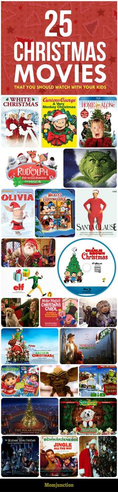 top 25 christmas themed movies that you should watch with your kids if you - Best Christmas Movies For Kids