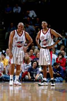 Charles Barkley & Scottie Pippen.    For all the latest Houston Rockets news and updates, visit www.rockets.com.