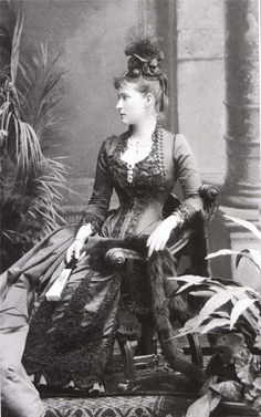 Grand Duchess Elisabeth Feodorovna Romanova of Russia.