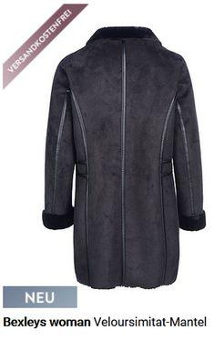 Damenmantel Veloursimitat Mantel, Leather Jacket, Jackets, Fashion, Eagle, Studded Leather Jacket, Down Jackets, Moda, Leather Jackets