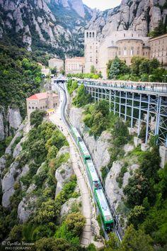 """Montserrat's Funicular"" by Cynthia Vanessa"