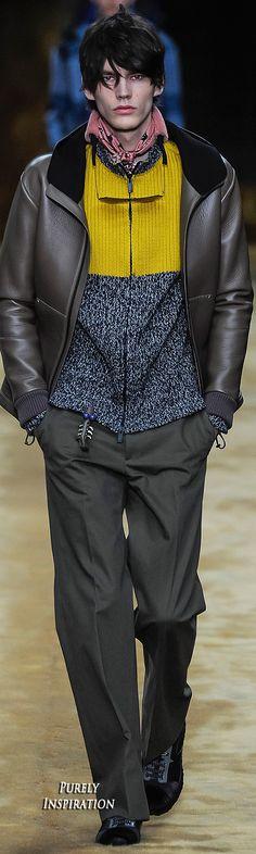 Fendi FW2016 Menswear RTW | Purely Inspiration
